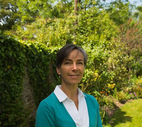 Tamara in the garden