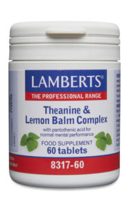 Theanine and Lemon Balm Complex